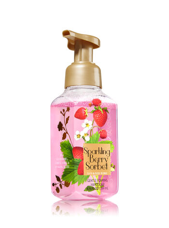 Sparkling Berry Sorbet Gentle Foaming Hand Soap - Bath And Body Works