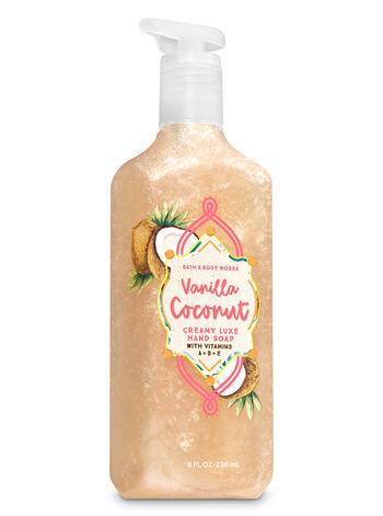 Vanilla Coconut Creamy Luxe Hand Soap - Bath And Body Works