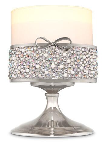 Gem Bow Pedestal 3-Wick Candle Sleeve
