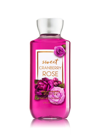 Signature Collection Sweet Cranberry Rose Shower Gel - Bath And Body Works