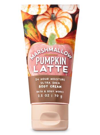 Marshmallow Pumpkin Latte Travel Size Body Cream - Bath And Body Works