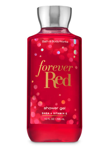 forever red shower gel signature collection bath body works