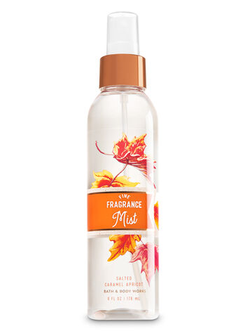 Signature Collection Salted Caramel Apricot Fine Fragrance Mist - Bath And Body Works