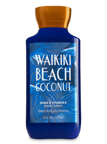 Signature Collection Waikiki Beach Coconut Body Lotion - Bath And Body Works
