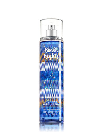 Signature Collection Beach Nights - Summer Marshmallow Fine Fragrance Mist - Bath And Body Works
