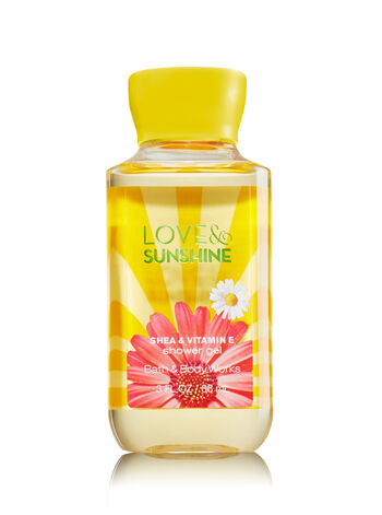 Signature Collection Love & Sunshine Travel Size Shower Gel - Bath And Body Works