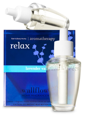 Relax - Lavender & Vanilla Wallflowers 2-Pack Refills - Bath And Body Works