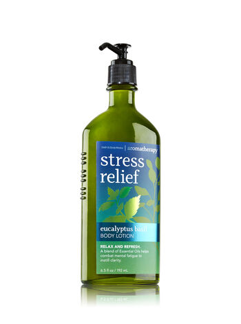 Aromatherapy Eucalyptus Basil Body Lotion - Bath And Body Works