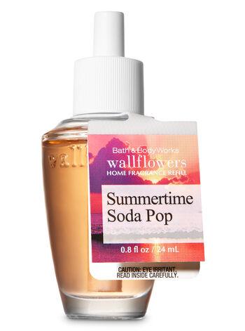 Summertime Soda Pop Wallflowers Fragrance Refill - Bath And Body Works