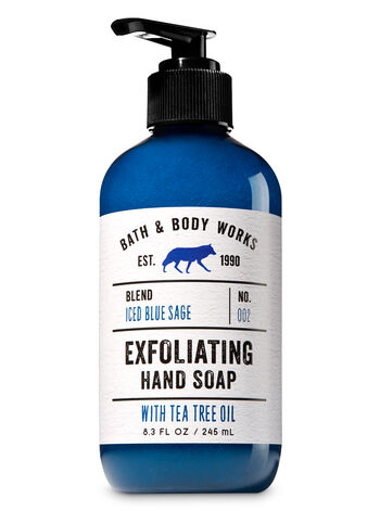 Iced Blue Sage Exfoliating Hand Soap - Bath And Body Works