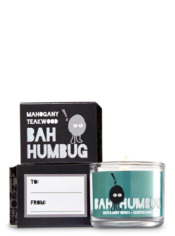 Mahogany Teakwood Mini Candle