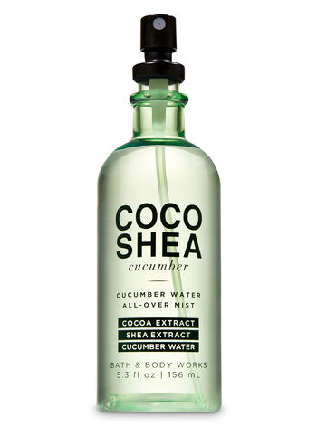 CocoShea Cucumber Cucumber Water All-Over Mist - Bath And Body Works