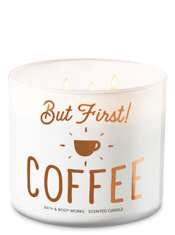 But First, Coffee! 3-Wick Candle - Bath And Body Works