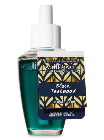Black Teakwood Wallflowers Fragrance Refill - Bath And Body Works