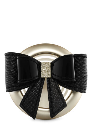Black Tie Bow Vent Clip Scentportable Holders