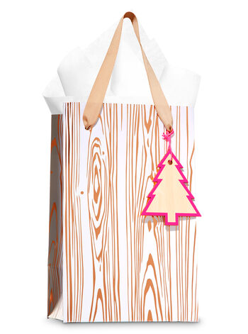 Rose Gold & Natural Gift Bag - Bath And Body Works