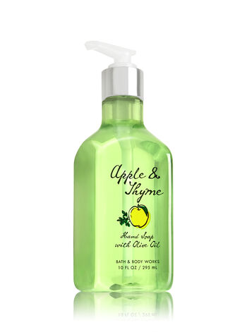 Apple & Thyme Hand Soap with Olive Oil - Bath And Body Works