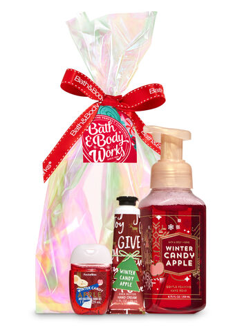 Winter Candy Apple Happy Hands Gift Kit - Bath And Body Works