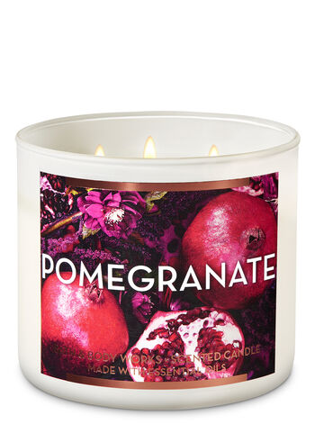 Pomegranate 3-Wick Candle - Bath And Body Works