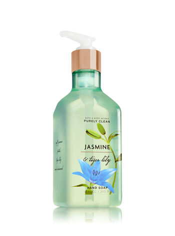 Jasmine & Tiger Lily Purely Clean Hand Soap - Bath And Body Works