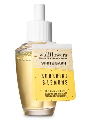 Sunshine & Lemons Wallflowers Fragrance Refill - Bath And Body Works