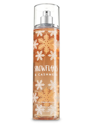 Signature Collection Snowflakes And Cashmere Fine Fragrance Mist - Bath And Body Works