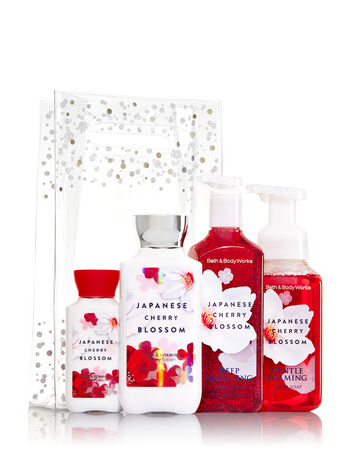 Japanese Cherry Blossom It's In the Bag Gift Set