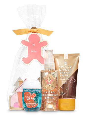 Spiced Gingerbread Swirl Holiday Traditions Mini Gift Set