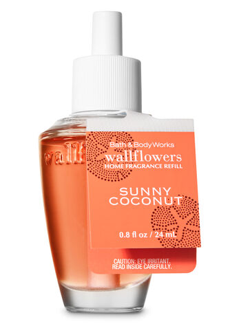 Sunny Coconut Wallflowers Fragrance Refill - Bath And Body Works
