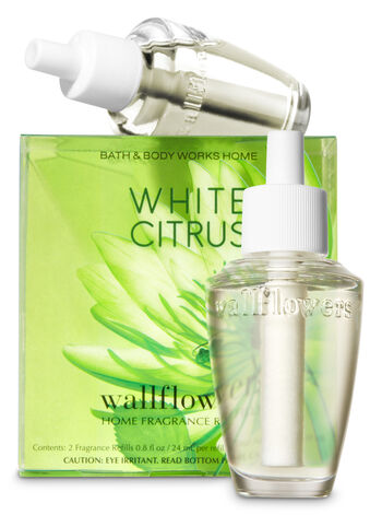White Citrus Wallflowers 2-Pack Refills - Bath And Body Works