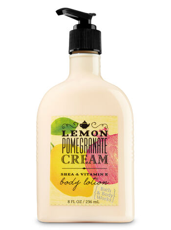 Signature Collection Lemon Pomegranate Cream Body Lotion - Bath And Body Works