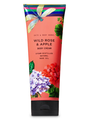 Wild Rose & Apple Body Cream - Bath And Body Works