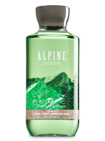 Signature Collection Alpine Suede 2-in-1 Hair + Body Wash - Bath And Body Works