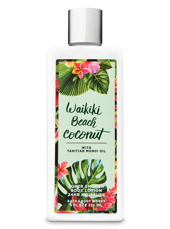Signature Collection Waikiki Beach Coconut Super Smooth Body Lotion - Bath And Body Works