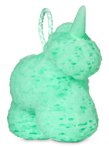 Mint Green Unicorn Shower Sponge - Bath And Body Works