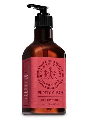 Cedarwood Purely Clean Hand Soap - Bath And Body Works