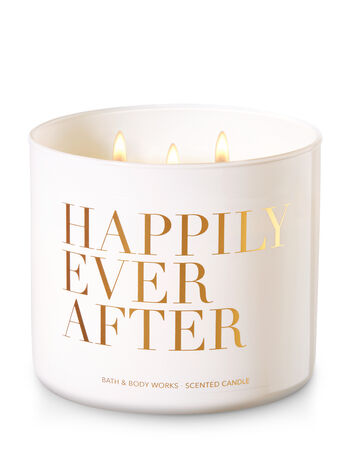 Happily Ever After - Blue Water Lily 3-Wick Candle - Bath And Body Works