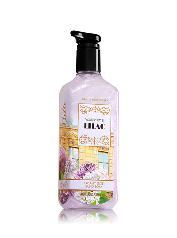 Waterlily & Lilac Creamy Luxe Hand Soap - Bath And Body Works
