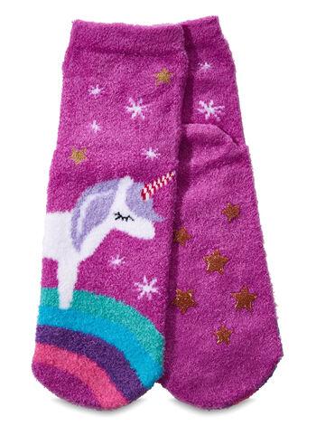 Glimmer the Unicorn Shea-Infused Lounge Socks