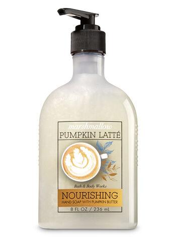 Marshmallow Pumpkin Latte Hand Soap with Pumpkin Butter - Bath And Body Works