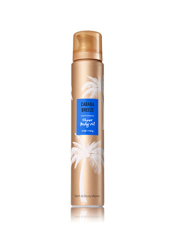 Signature Collection Cabana Breeze Sheer Body Oil - Bath And Body Works