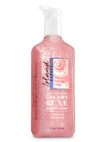 Island Papaya Creamy Luxe Hand Soap - Bath And Body Works