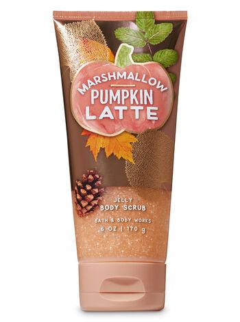 Marshmallow Pumpkin Latte Jelly Body Scrub - Bath And Body Works