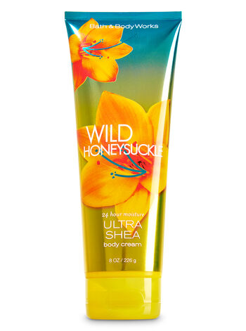 Signature Collection Wild Honeysuckle Ultra Shea Body Cream - Bath And Body Works