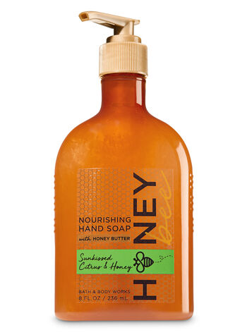 Sunkissed Citrus & Honey Hand Soap with Honey Butter - Bath And Body Works