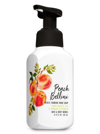 Peach Bellini Gentle Foaming Hand Soap - Bath And Body Works