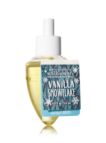 Vanilla Snowflake Wallflowers Fragrance Refill - Bath And Body Works