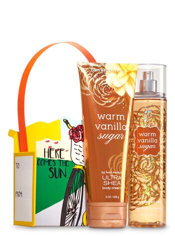 Warm Vanilla Sugar Soft & Scented Gift Set - Bath And Body Works