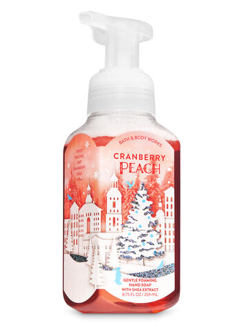 Cranberry Peach Gentle Foaming Hand Soap Bath Amp Body Works