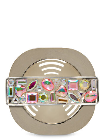 Mosaic Gem Vent Clip Scentportable Holder